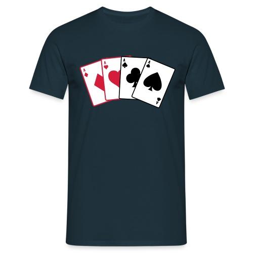 Maglietta da uomo - t-shirt poker