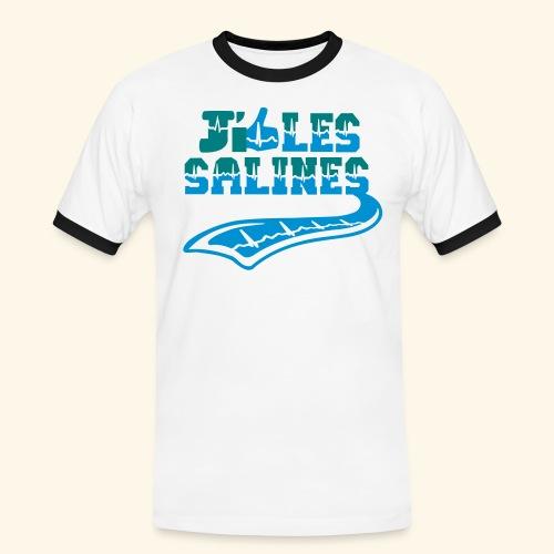 j'aime les Salines - T-shirt contrasté Homme