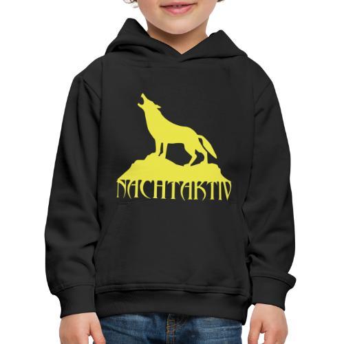 Nachtaktiv Pullover (Kiddies) - Kinder Premium Hoodie