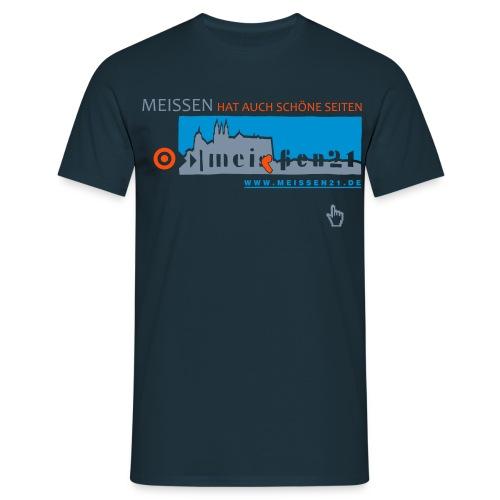 M21-schöne Seiten (Mann) - Männer T-Shirt