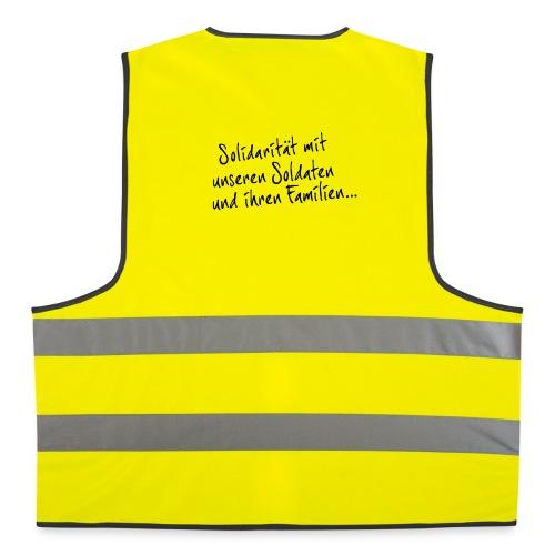 Gelbe Warnweste - Warnweste