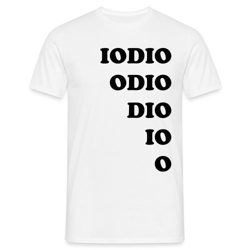 IO ODIO small - Men's T-Shirt