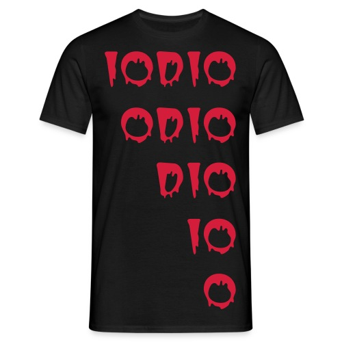 IO ODIO Halloween edition 2 - Men's T-Shirt