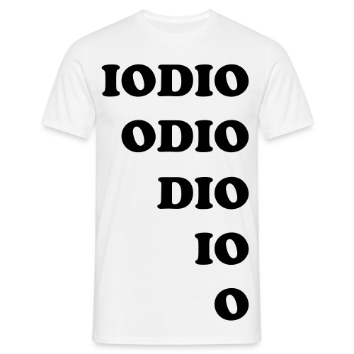 IO ODIO - Men's T-Shirt