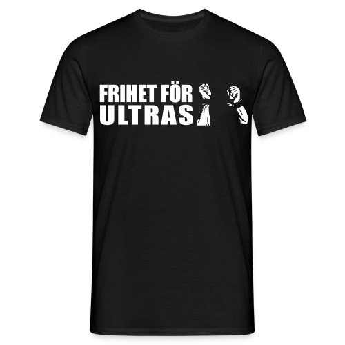 Svart Frihet för ultras t-shirt - T-shirt herr