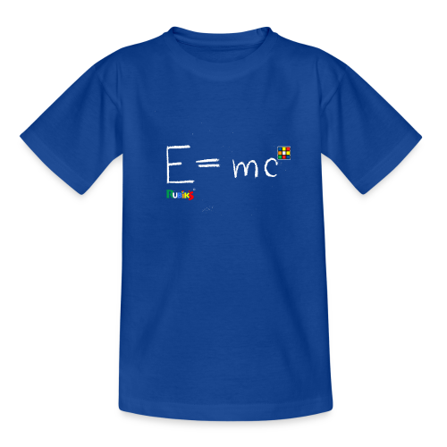 E=mc White - Kids' T-Shirt