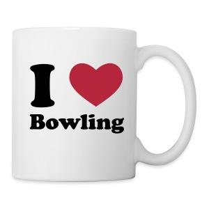 I Love Bowling mok - Mok