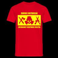 T-Shirts ~ Men's T-Shirt ~ Zombie Militia T-Shirt