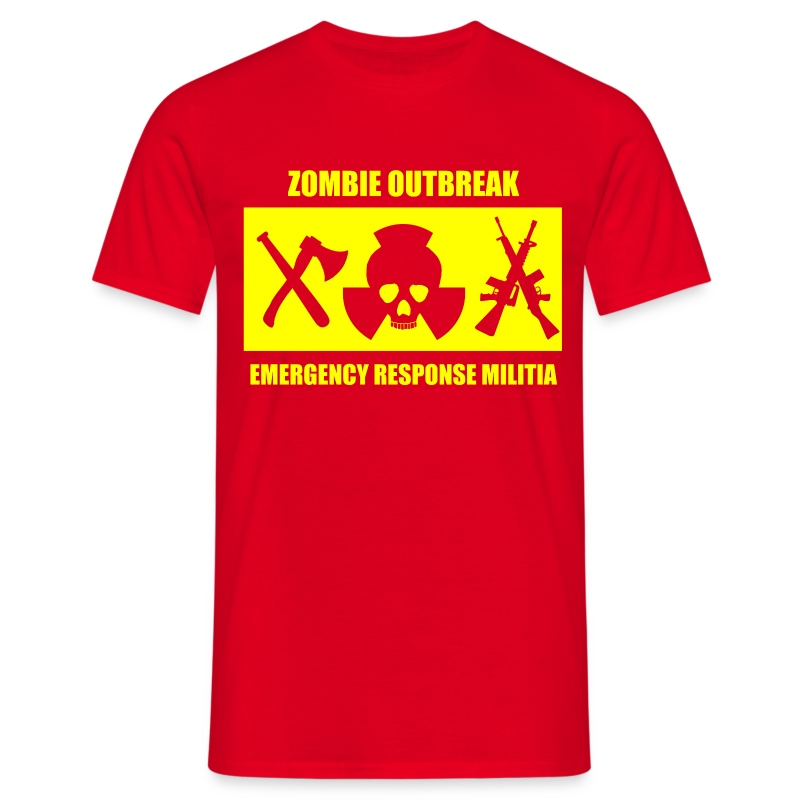 Zombie Militia T-Shirt - Men's T-Shirt