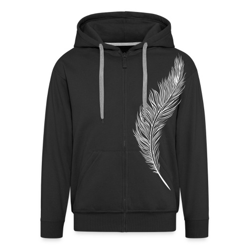 Feather  - Men's Premium Hooded Jacket