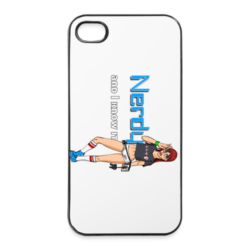 Nerdy Case - iPhone 4/4s Hard Case