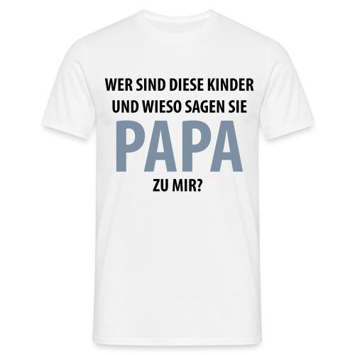Wer sind... - Männer T-Shirt
