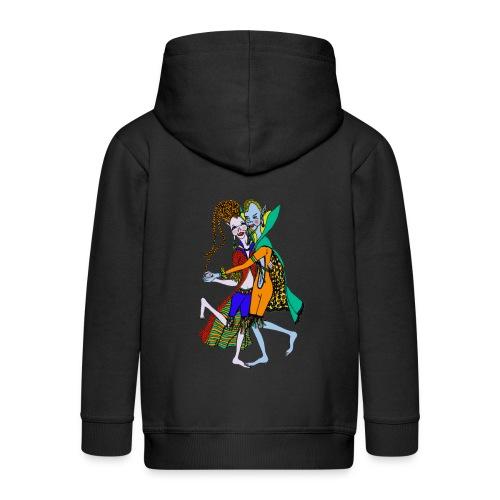 Elfen jas voor kinderen - Kinderen Premium jas met capuchon