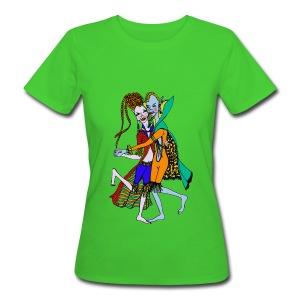 Biologisch elfen dames t-shirt. - Vrouwen Bio-T-shirt