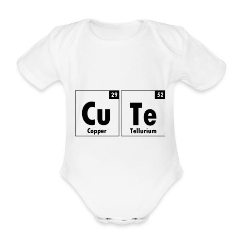 Cute Element Baby Onesie - Organic Short-sleeved Baby Bodysuit