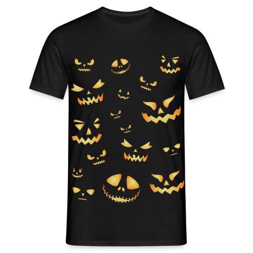 Halloween pumpkins - Men's T-Shirt