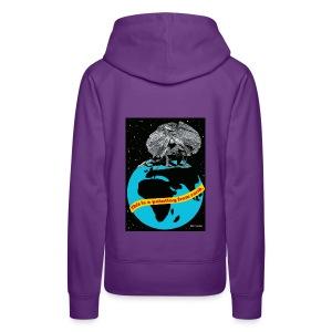 vrouwen sweater hagedis - Vrouwen Premium hoodie