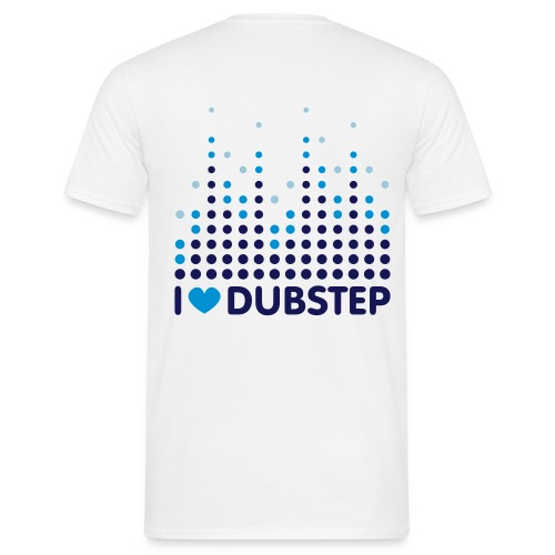 I LOVE DUBSTEP - Herre-T-shirt
