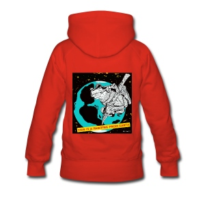 vrouwen sweater kikker - Vrouwen Premium hoodie