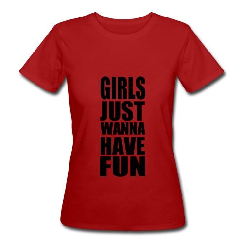 Singel dame-skjorte - Økologisk T-skjorte for kvinner