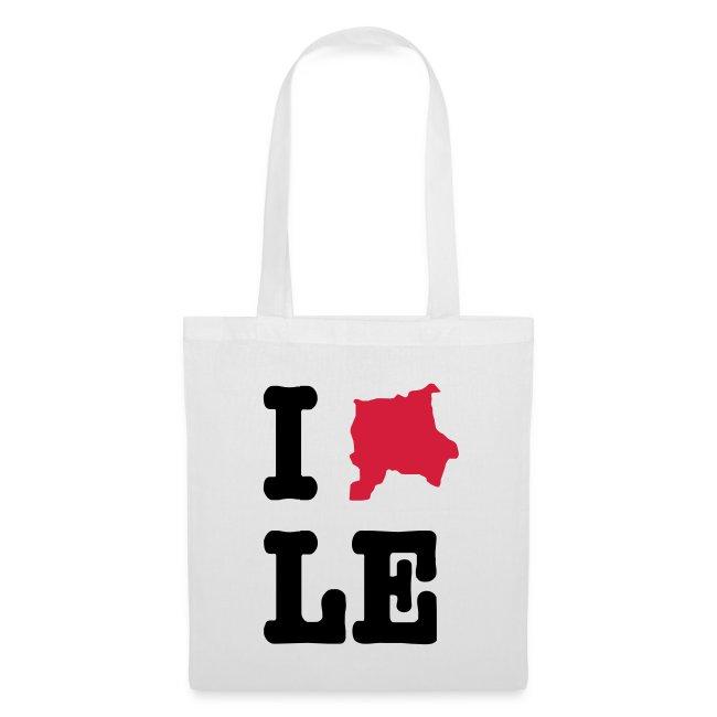 I Love Leipzig - Stoffbeutel