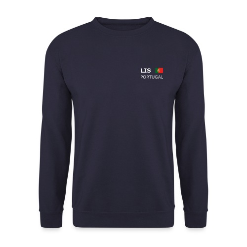 Men's Pullover LIS PORTUGAL white-lettered - Men's Sweatshirt
