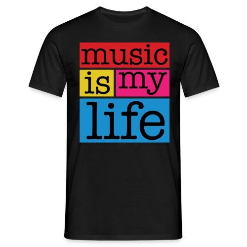 Music life - T-shirt Homme