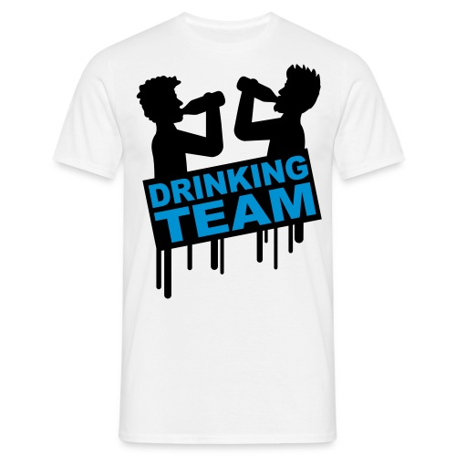 Drinking Team Blue - T-shirt Homme