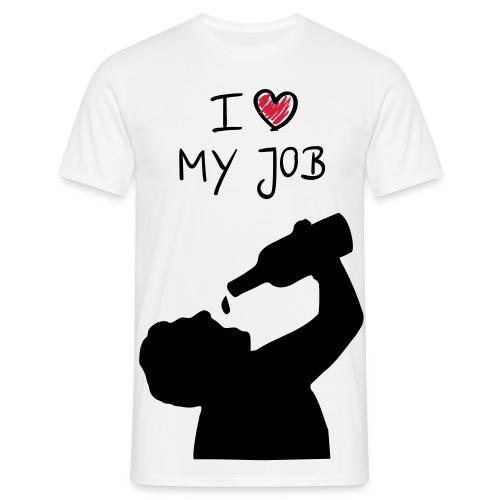 I love my job - T-shirt Homme