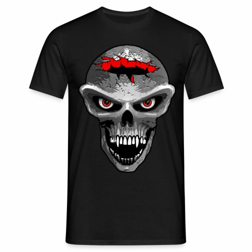Skull - Crater Head - Men's T-Shirt