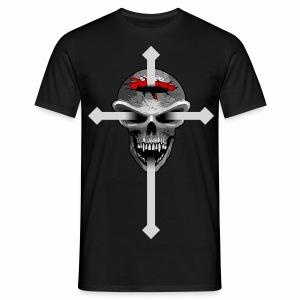 Skull - Cross - Men's T-Shirt