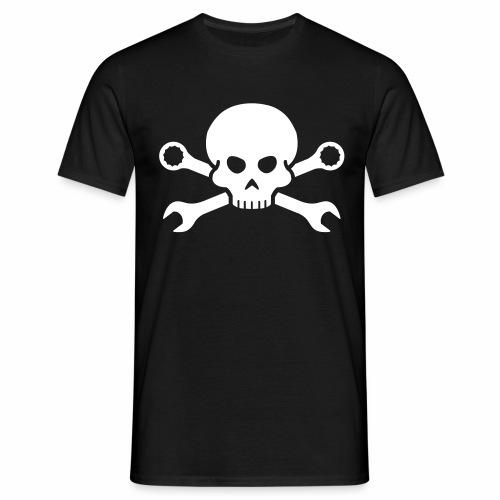 Skull - Spanners - Men's T-Shirt