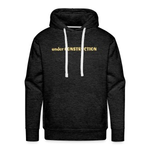 under construction - Men's Premium Hoodie