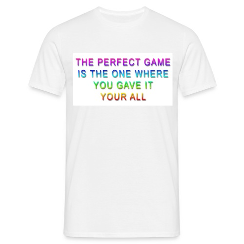 The Perfect Game - Men's T-Shirt
