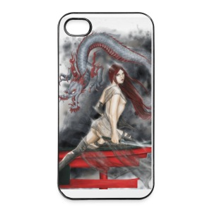 iPhone Case - Drachenlady - iPhone 4/4s Hard Case