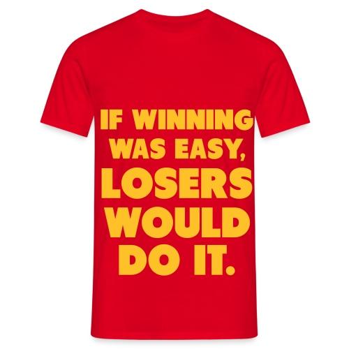 Mannentshirt - Mannen T-shirt