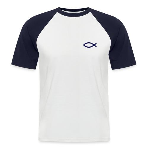 Männer Baseball-T-Shirt - ICHTHYS