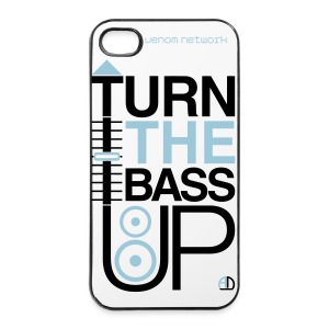iPhone Case White - Turn Up The Bass - iPhone 4/4s Hard Case