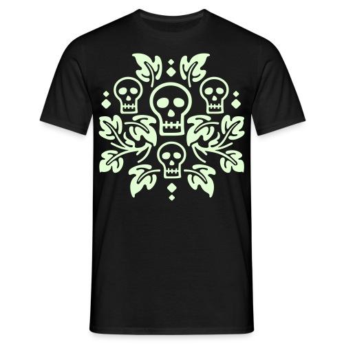 Calaveras y ramas - Camiseta hombre