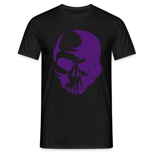 Purple Skull - Camiseta hombre