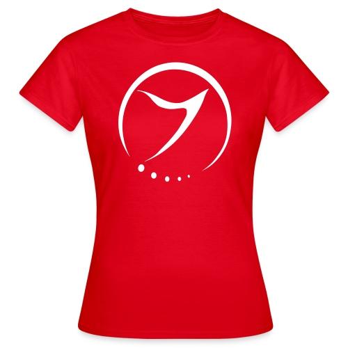 Womens Tee (white logo front) - Women's T-Shirt