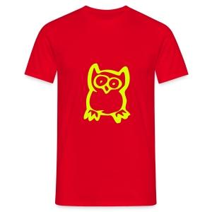 Cartoon Owl - Men's T-Shirt