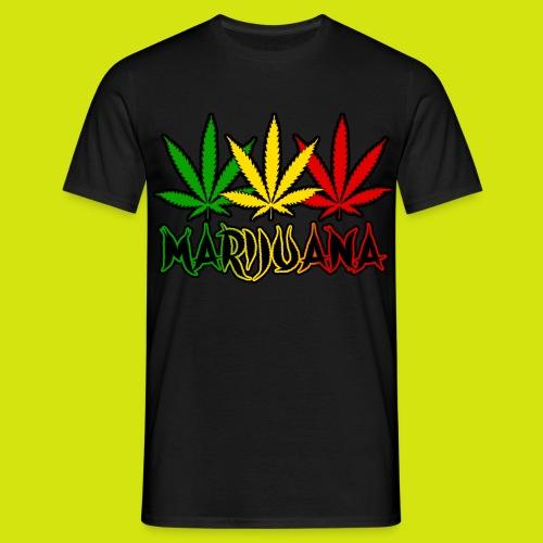 t-shirt marijuana - T-shirt Homme
