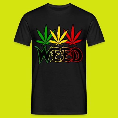 t-shirt weed - T-shirt Homme