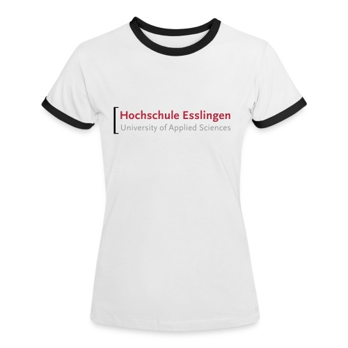 Frauen-T-Shirt - Frauen Kontrast-T-Shirt