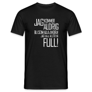 T-shirts ~ T-shirt herr ~ Skall alltid vara full!