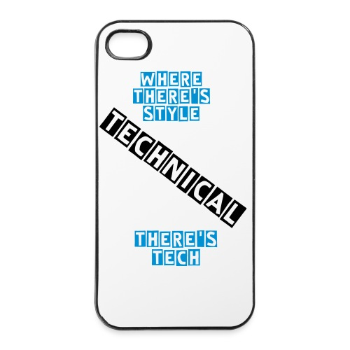 Where There's Style There's Tech (iPhone Case) - iPhone 4/4s Hard Case