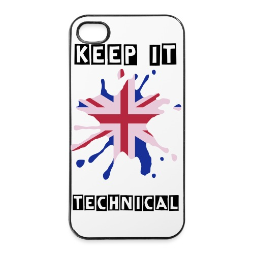 Keep It Technical (Union Jack) - iPhone 4/4s Hard Case