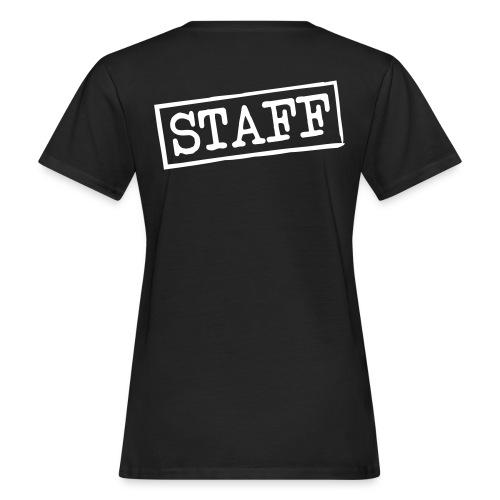 tee shirt femme staff  - T-shirt bio Femme