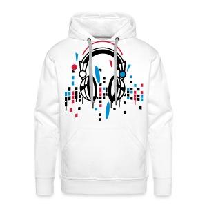 music  - Mannen Premium hoodie